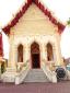 โบสถ์สีเหลืองภายในวัดโพธิ์ศรี (มีพระพุทธรูปพระทองจำลอง)