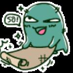 blog mascot