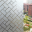 frosted lattice window film