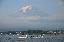 วิวยามเช้าริมทะเลสาป kawaguchiko