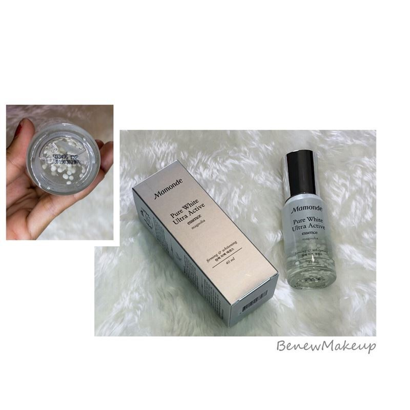 รีวิวมามอนด์ Mamonde Pure White Ultra Active Essence
