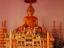พระพุทธรูปพระทอง(จำลอง) ในโบสถ์วัดโพธิ์ศรี