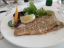 เสต็กปลาของ Restaurant Gastronomisk Institut