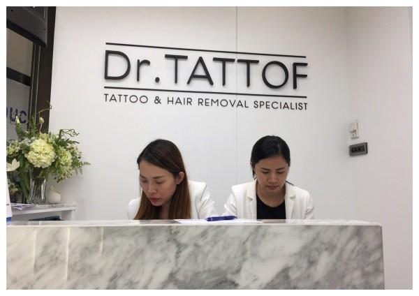 สักคิ้ว ลบคิ้ว คิ้ว 6 มิติ บล็อกเกอร์ดัง dr. Tatoff