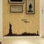 New York Skyline Wall Sticker