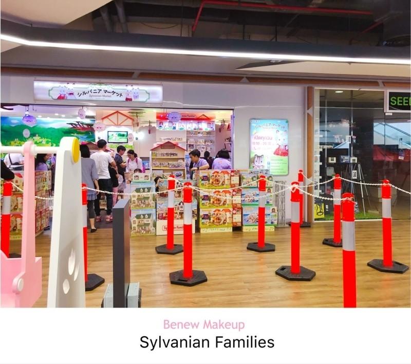 หน้าร้านซิลวาเนียน sylvanian market